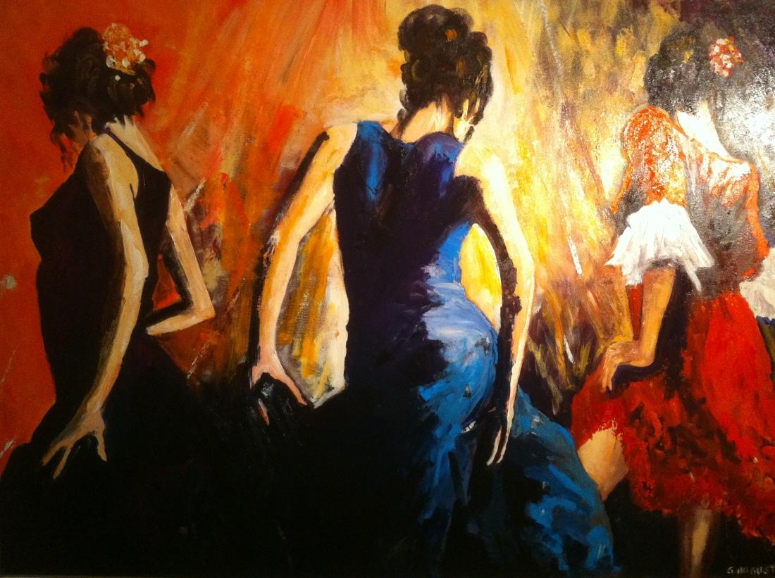 Huile sur toile, 60 x 80